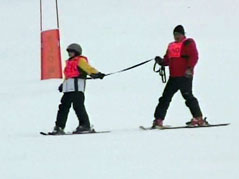 ski for light blind skiing black hills