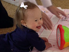 Annabella Schieffer Down Syndrome birth to 3 program