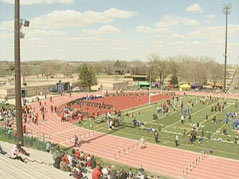 howard wood dakota relays track and field