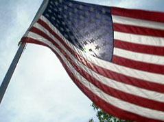 flag sunshine summer memorial day