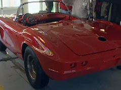john sweeney corvette convertible restoration