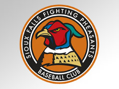 sioux falls fighting pheasants \ sf pheasants \ sioux falls pheasants \ baseball team \ pheasants logo