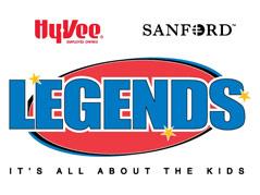 legends logo hyvee sanford