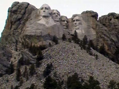 mount rushmore generous gift memorial monument presidents