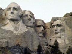 mount rushmore generous gift memorial monument presidents