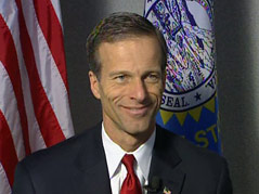 senator john thune presidential announcement #022211
