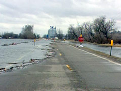 hamlin county roads flooding damage water #041511