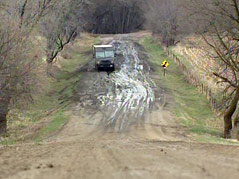 split rock township roads messy wet weather