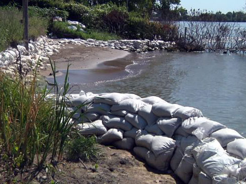 sandbags flooding reuse yankton county