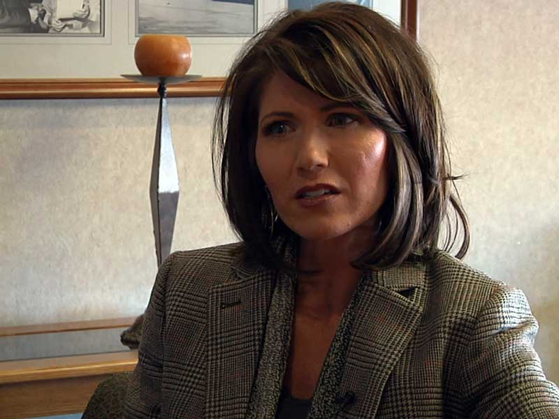 kristi noem congresswoman at KELO