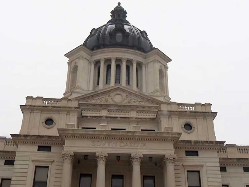 sd capitol building legislature politics janklow funeral memeorial service governor