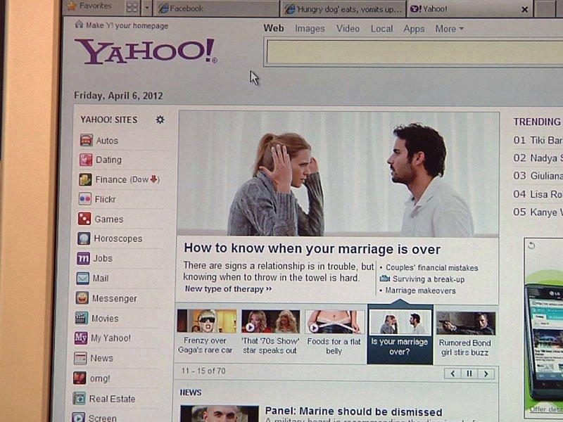 yahoo website lays off 2,000 employees internet