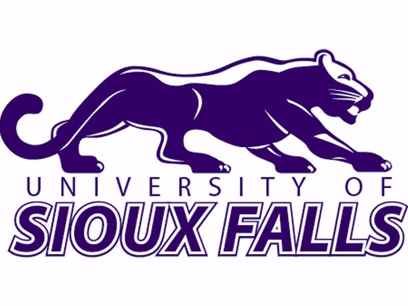 University of Sioux Falls USF logo college education cougars