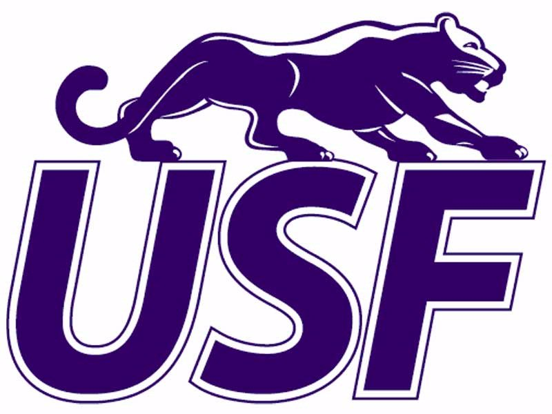 University of Sioux Falls USF logo cougars college education