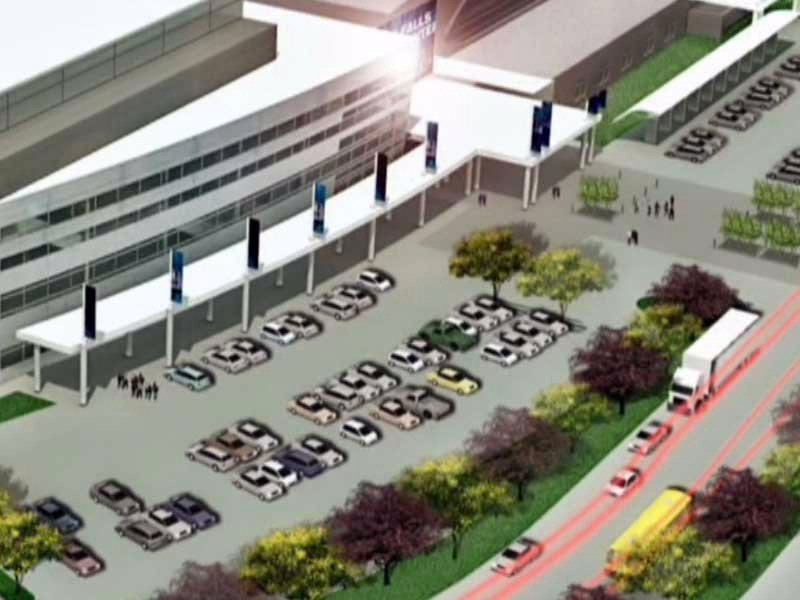 City Signs Events Center Naming Rights Agreement