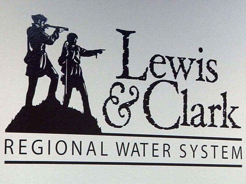 lewis and clark regional water sytem logo sign