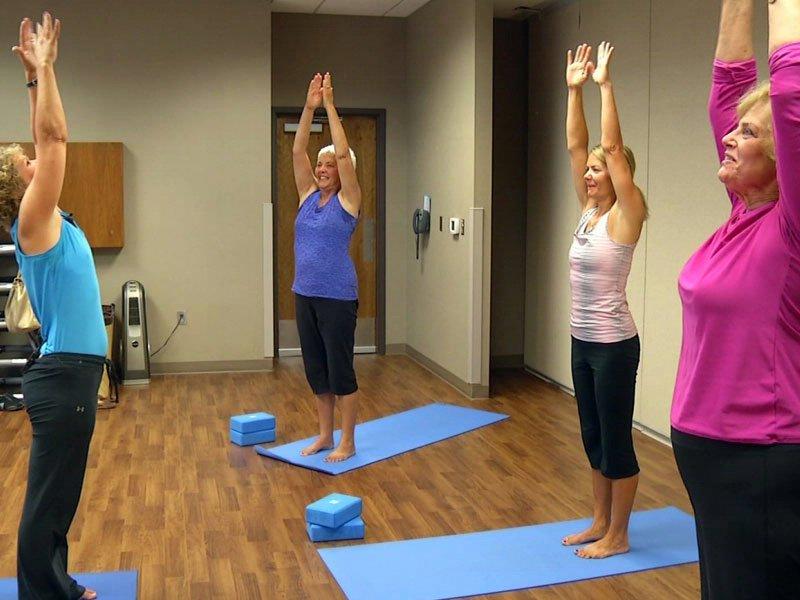 women friendships yoga health benefits