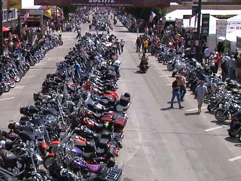 sturgis motorcycle rally bikers bikes