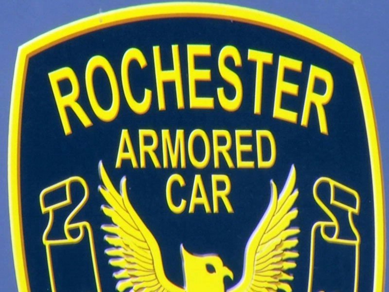 missing cash from armored car company rochester