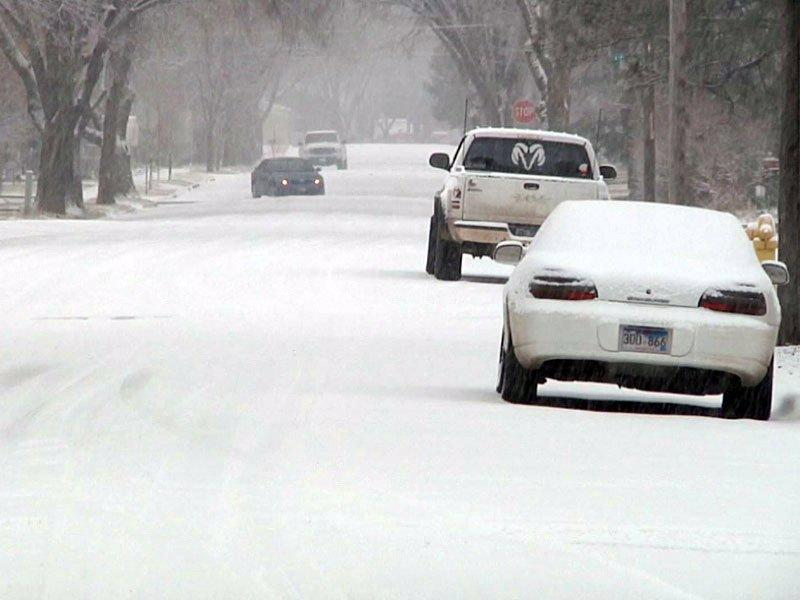 aberdeen snow dec. 7, 2012 snowfall street
