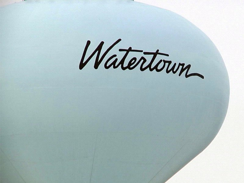 watertown, city of watertown, watertown water tower