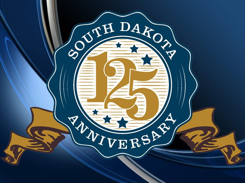south dakota 125th anniversary logo
