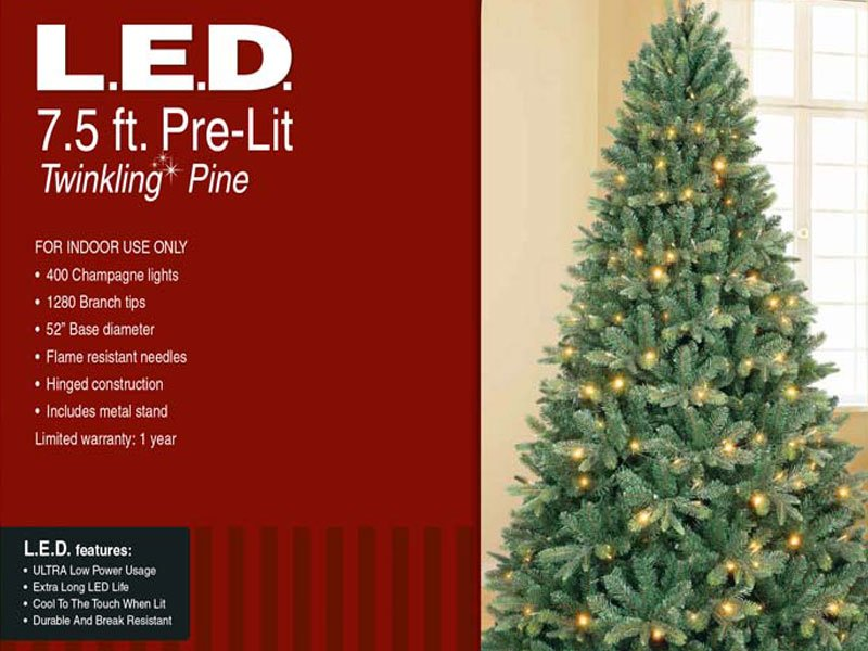 Artificial Christmas Trees From Menards Being Recalled