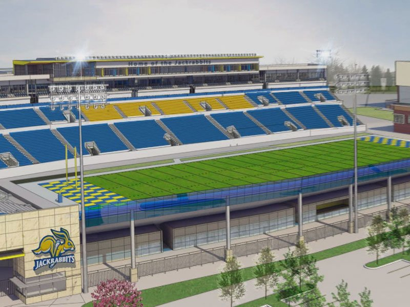 SDSU football drawings plans stadium