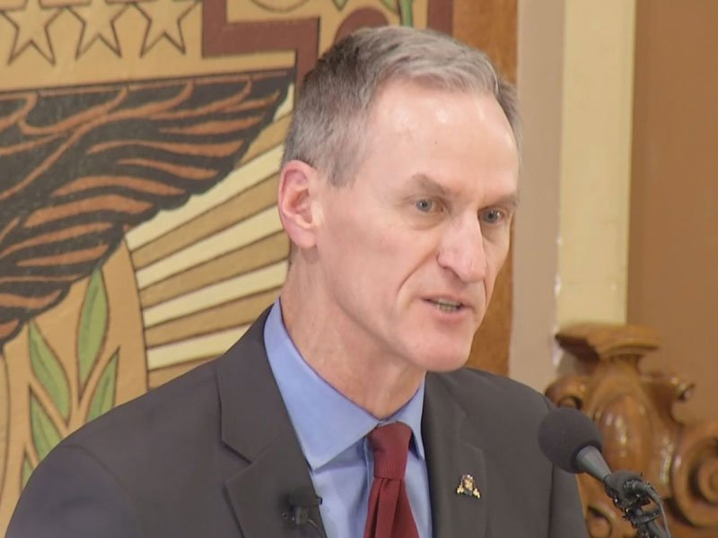 south dakota capitol state of the state governor dennis daugaard