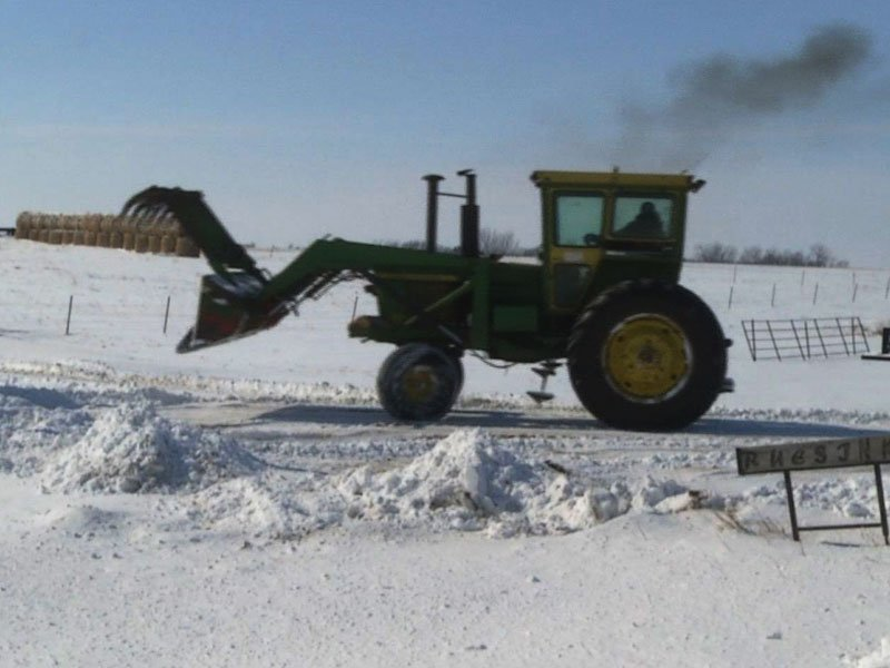 Farmers, Weather, Tractor