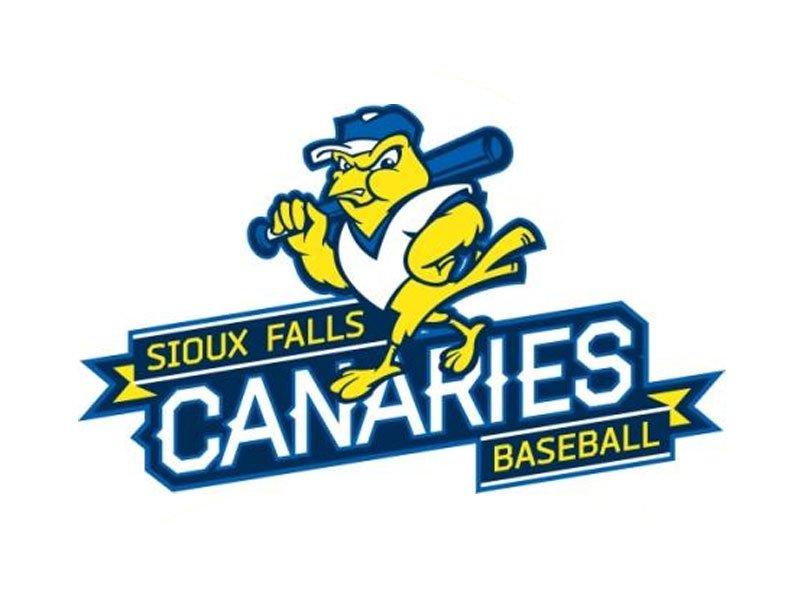 Sioux Falls Canaries baseball 2014 logo