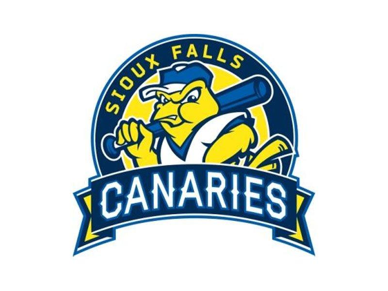 Sioux Falls canaries 2014 logo baseball