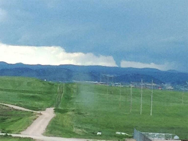 Lindsay Willits funnel cloud near box elder
