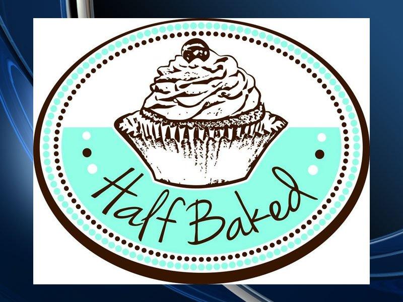 half baked logo bakery