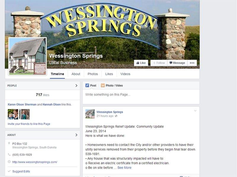 wessington springs facebook