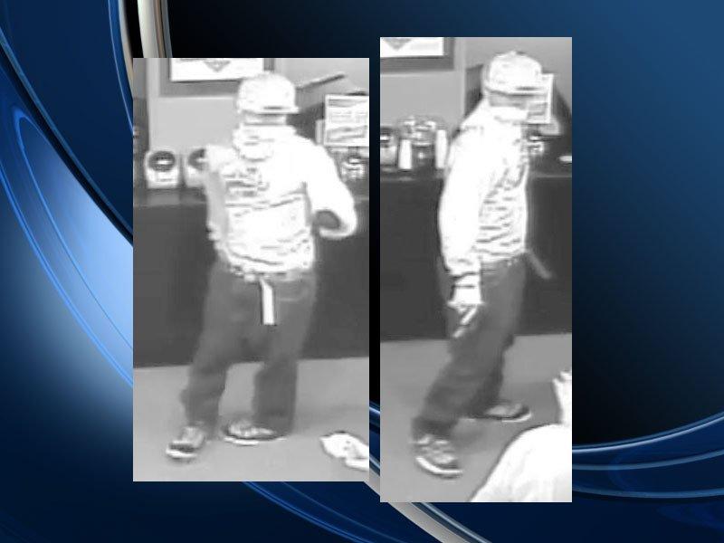 Connexions Casino robbery suspect