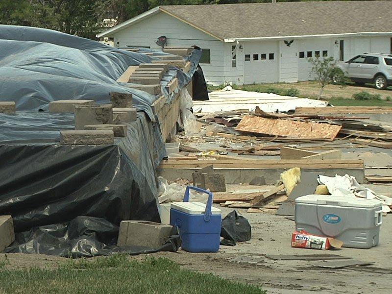 Tornado Damage, Clean Up