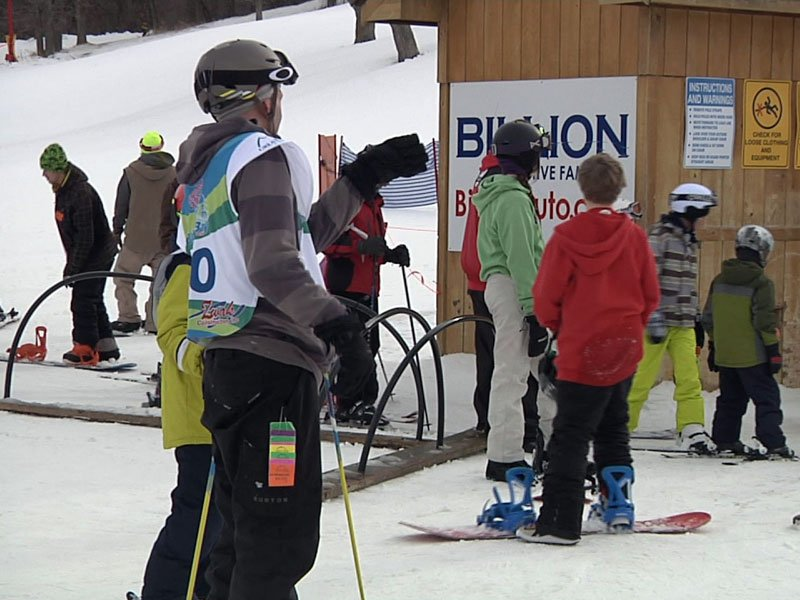 angels, great bear, ski and snowboarding race, make a wish