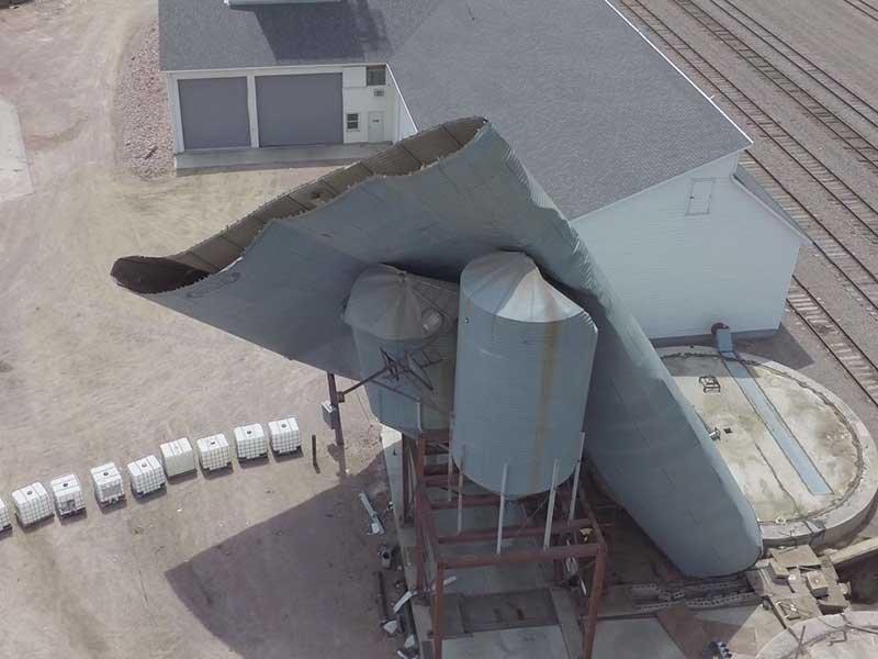 garretson drone video Prairie Aerial
