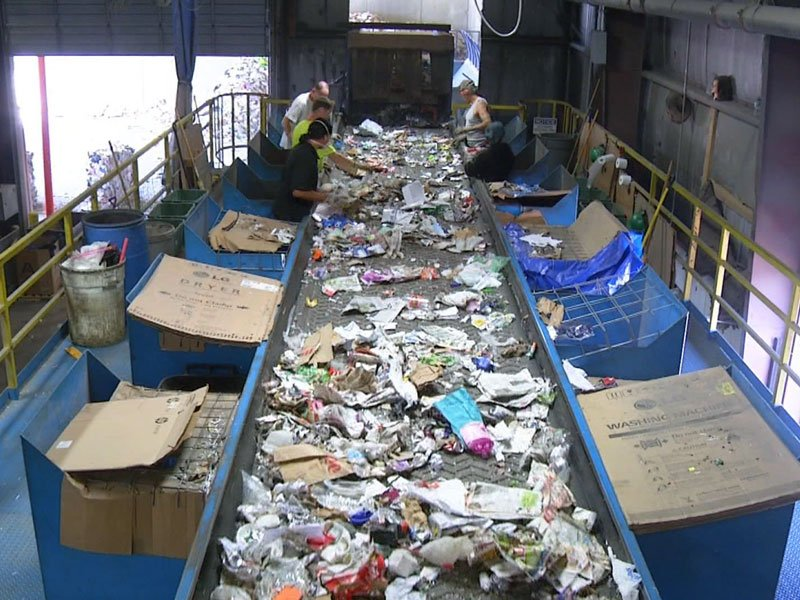 Millennium Recycling exports to china down