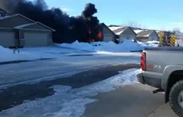Crews Respond To Fire In Southwest Sioux Falls